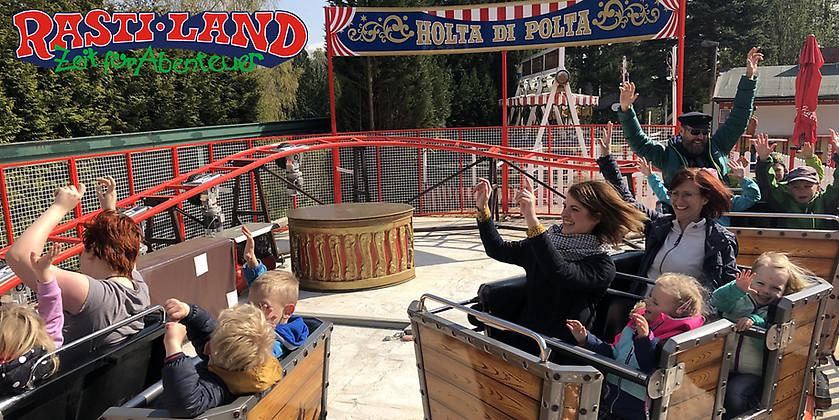 Gutschein für Zeit für Abenteuer für bis zu 4 Personen von Freizeit- und Erlebnispark Rasti-Land