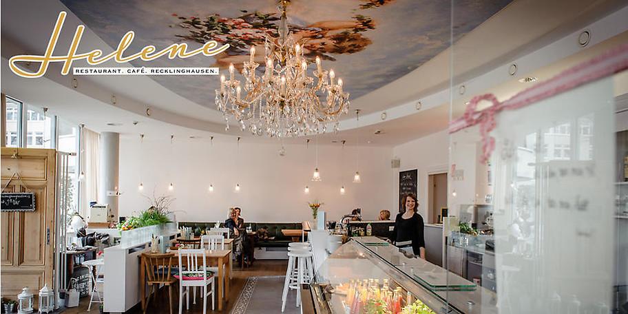 Genießen Sie das entspannte Ambiente im Restaurant Café Helene in Recklinghausen