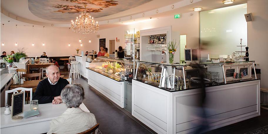 Das Restaurant Café Helene ist einzigartig in seiner Ausgestaltung