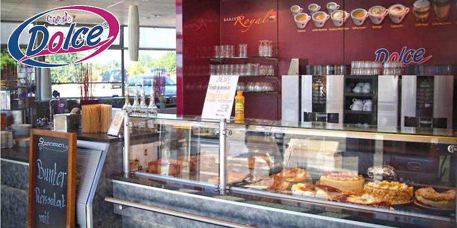 Ob Backwaren, Kaffee und Kuchen oder Currywurst bei Conrad's Dolce finden Sie fast alles