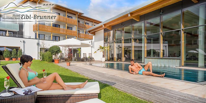 Gutschein für Wellness-Kurzurlaub im Bayerischen Wald zum halben Preis! von ****Wellnesshotel Eibl-Brunner