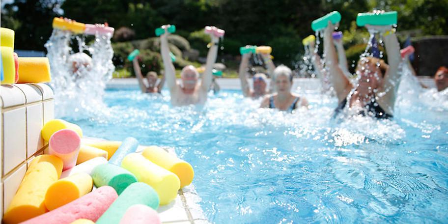 Fit halten mit Wassergymnastik in der Niederrhein-Therme