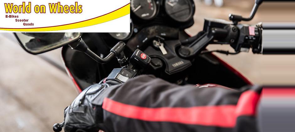 Gutschein für Motorrad-Notrufsystem dguard® inkl. Einbau zum halben Preis! von World on Wheels