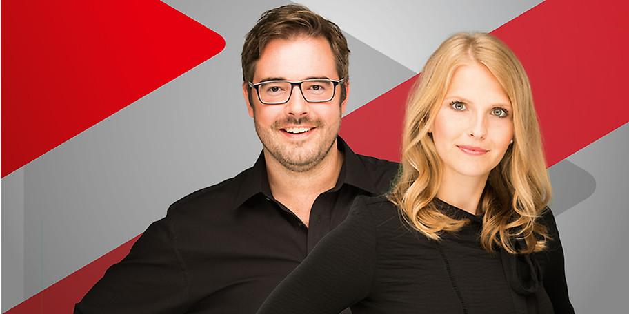 Radio Duisburg-Moderatoren Jana Josten & Olli Harbring