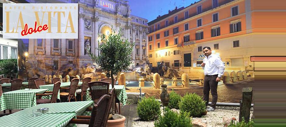 Gutschein für Italienische Herzlichkeit bei Claudio von Ristorante La Dolce Vita