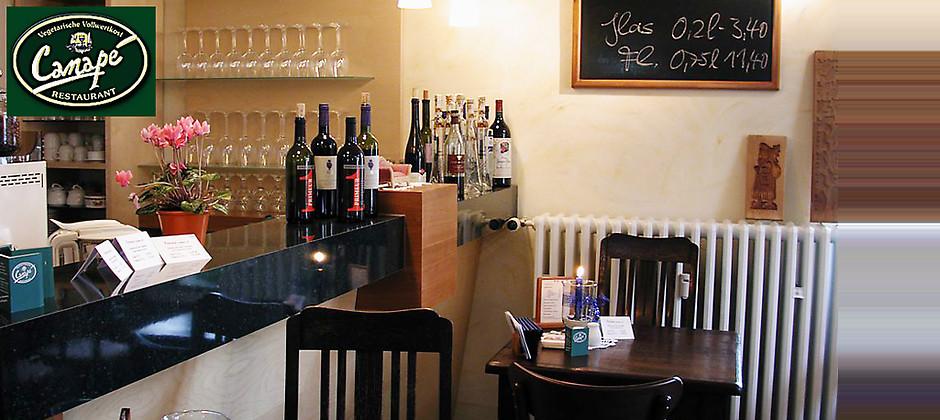 Gutschein für Ökologisch, interkulturell, innovativ. von Restaurant Canapé