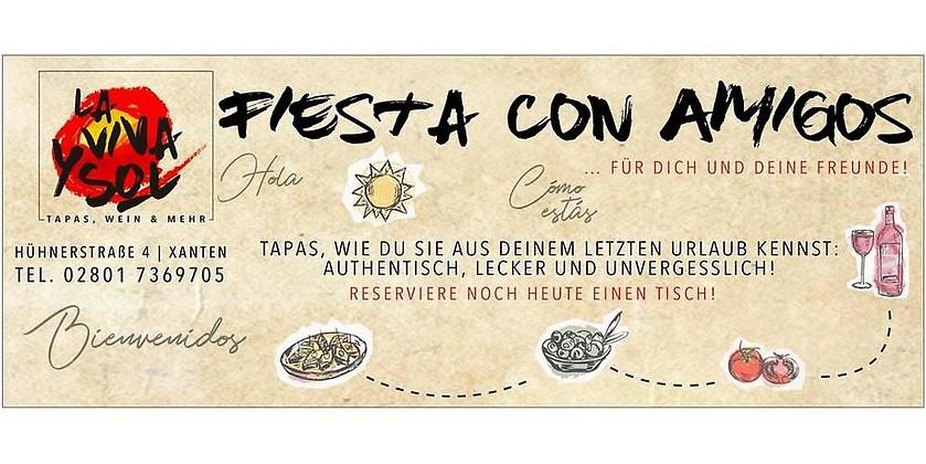 Gutschein für Tapas, Wein und mehr! von La Viva y Sol