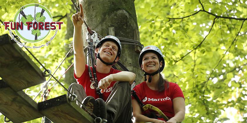 Gutschein für Ein Abenteuertag am See! von FUN FOREST Abenteuerpark