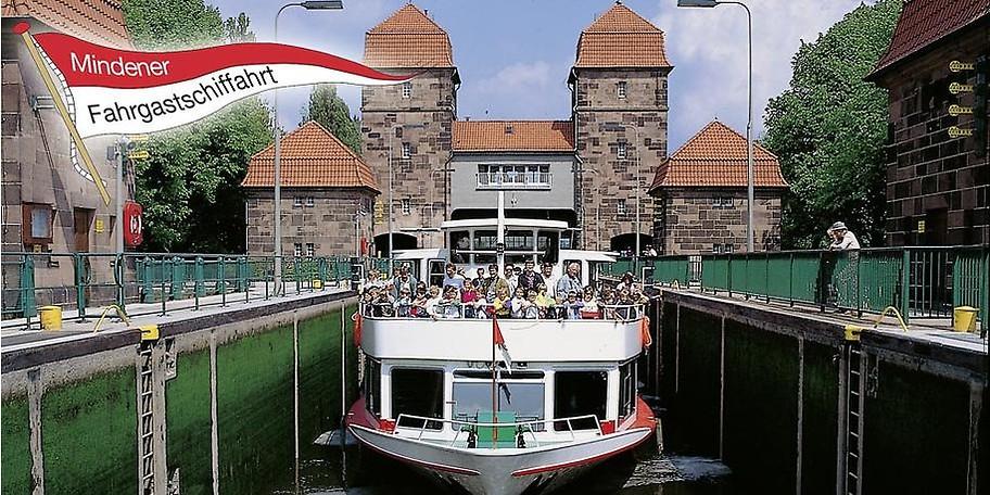 Willkommen an Bord der Mindener Fahrgastschifffahrt