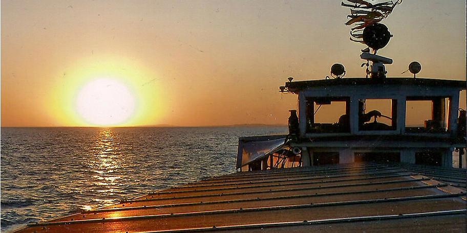 Ein Sonnenuntergang am Bodensee