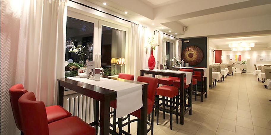Gemütliche, einladende Atmosphäre im Restaurant Reintjes in Oberhausen