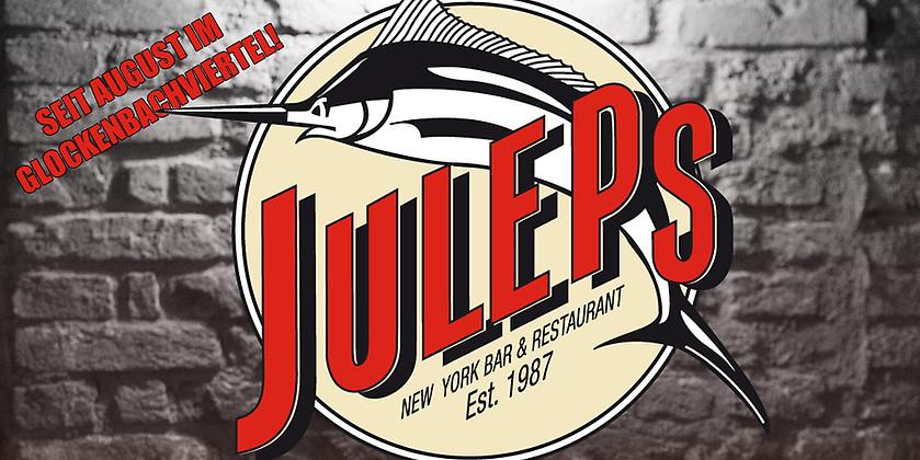 Gutschein für New York Bar & Restaurant im Glockenbachviertel! von Juleps München