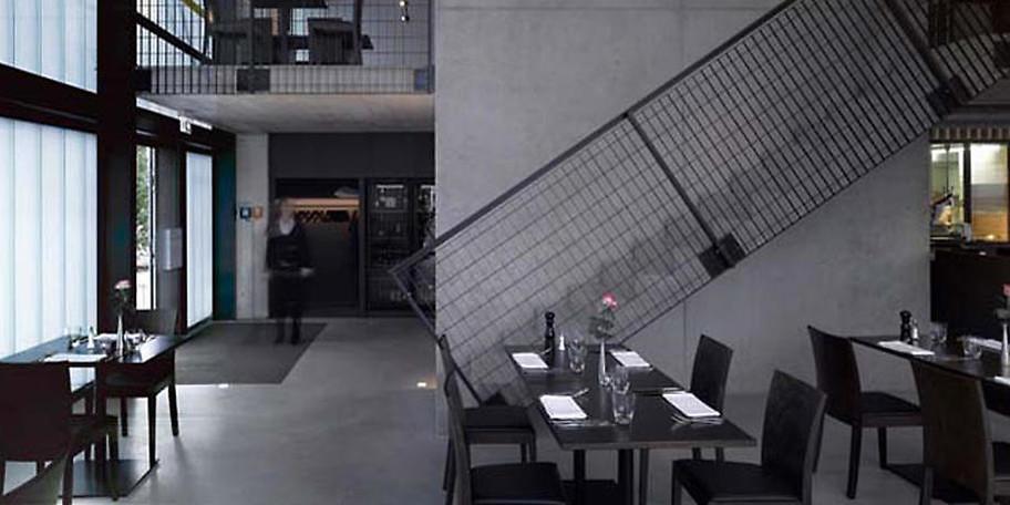 Modernes und schlichtes Design im L'Osteria cucina e bar in Aalen