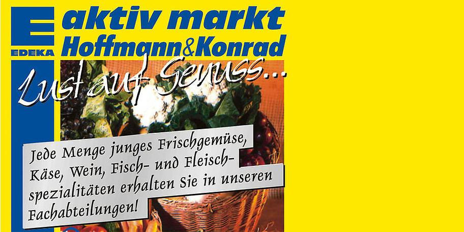 Hochwertige Lebensmittel im EDEKA Aktivmarkt Hoffmann & Konrad