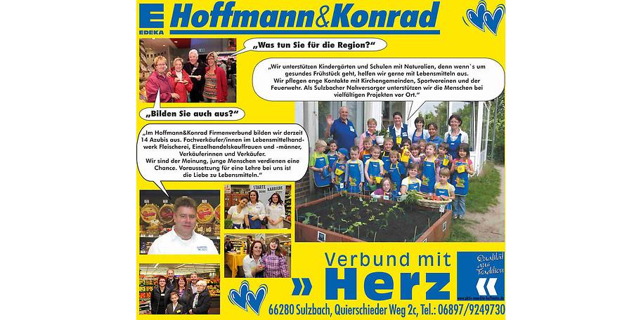Der Aktivmarkt Hoffmann & Konrad in Sulzbach unterstützt die Region bei verschiedenen Projekten