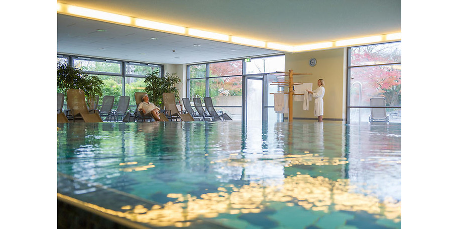 Sole, Therme, Wellness und Wärme in der Grugapark-Therme in Essen