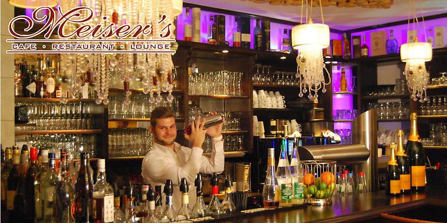 Gemütliches Ambiente in Meiser's Café & Restaurant in Dinkelsbühl