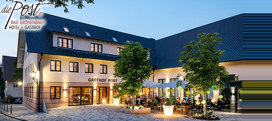 """Gutschein für So schmeckt das Allgäu! von Hotel Gasthof """"Die Post"""""""