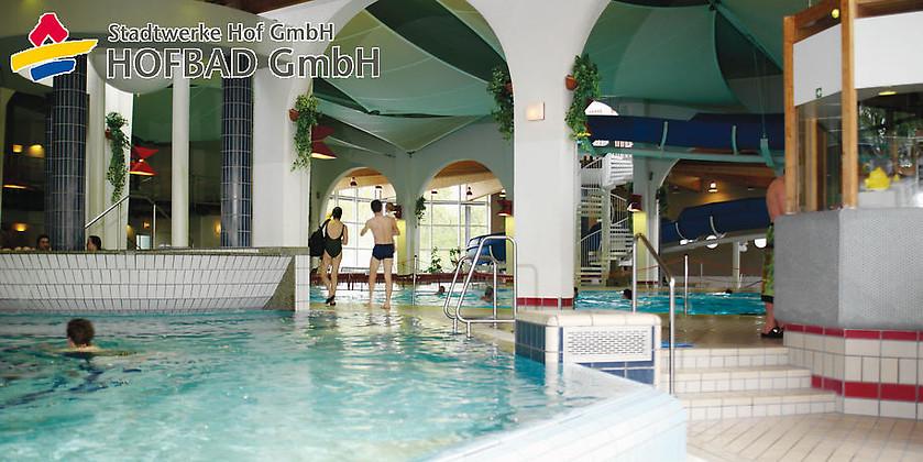 Gutschein für Schwimmvergnügen pur mit der Sparkarte für Schüler zum halben Preis! von HofBad