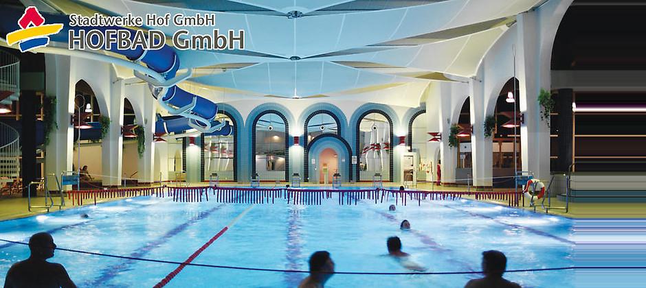 Gutschein für Schwimmvergnügen pur mit der Sparkarte für Erwachsene zum halben Preis! von HofBad