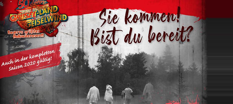 Gutschein für Wir feiern 50 Jahre Freizeit-Land! Mit Bayerns größtem Halloweenevent! von Freizeit-Land Geiselwind