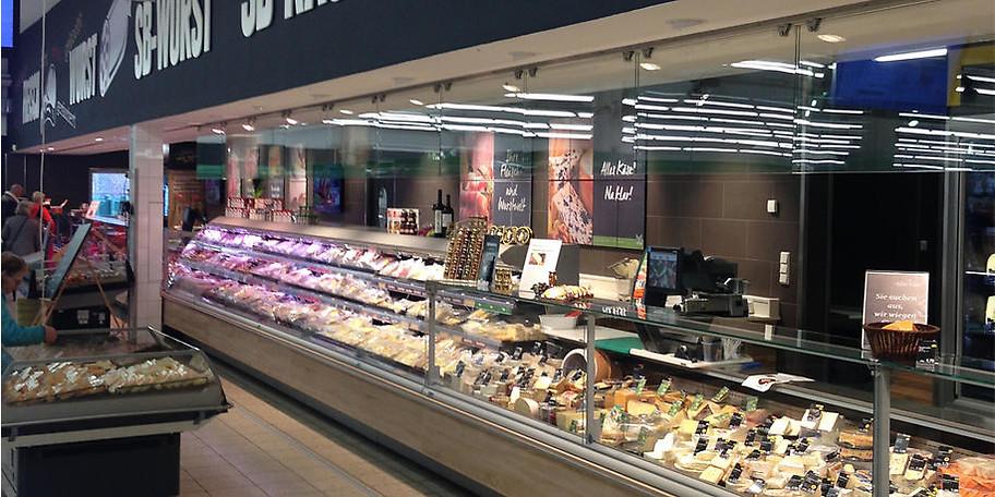 Käse und Fleisch aus der ganzen Welt, oder regional