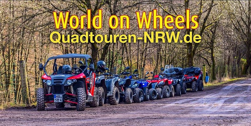 Gutschein für Große Sauerland-Quad-Tour zum halben Preis! von World on Wheels