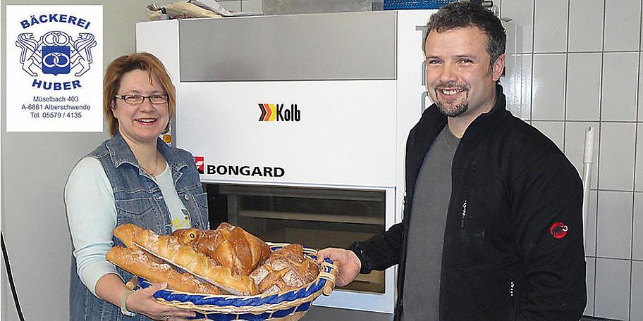 Willkommen bei der Bäckerei Dietmar Huber in Alberschwende