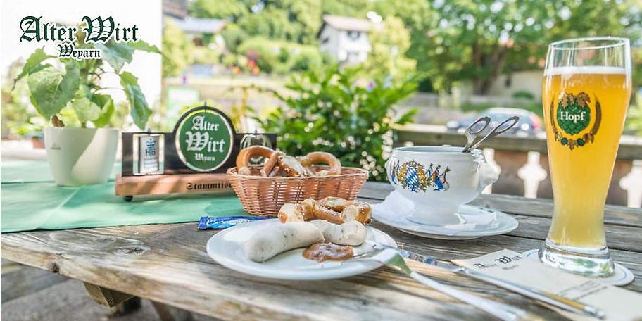 Genießen Sie typisch bayerische Küche im Landgasthof Alter Wirt Weyarn