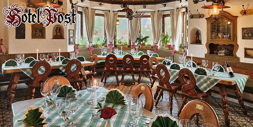 """Gutschein für Der Ort mit Tradition und Liebe zum Gast von Gasthof & Hotel """"Zur Post"""""""