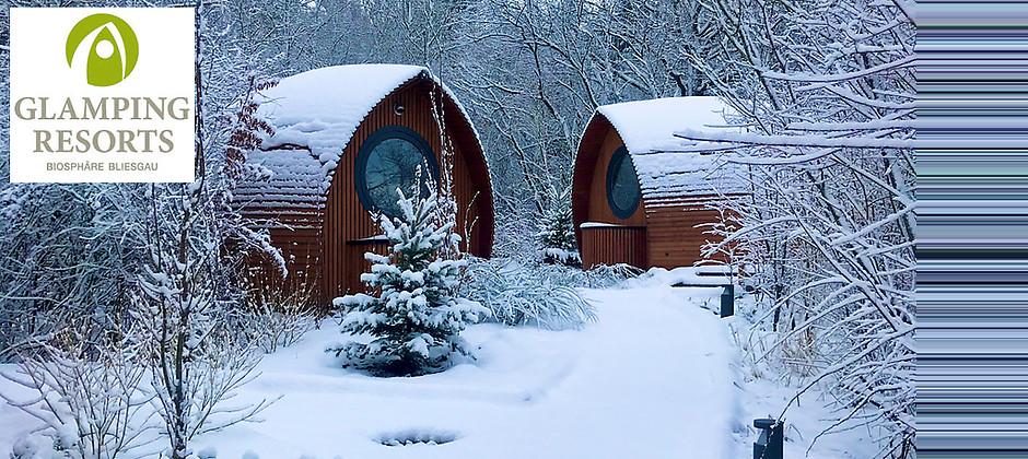 Gutschein für Übernachten auf höchstem Niveau inmitten schöner Natur von Glamping Resorts – Biosphäre Bliesgau