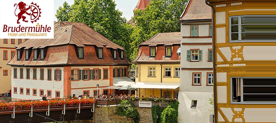 Gutschein für Gönnen Sie sich eine kleine Auszeit von Hotel und Restaurant Brudermühle