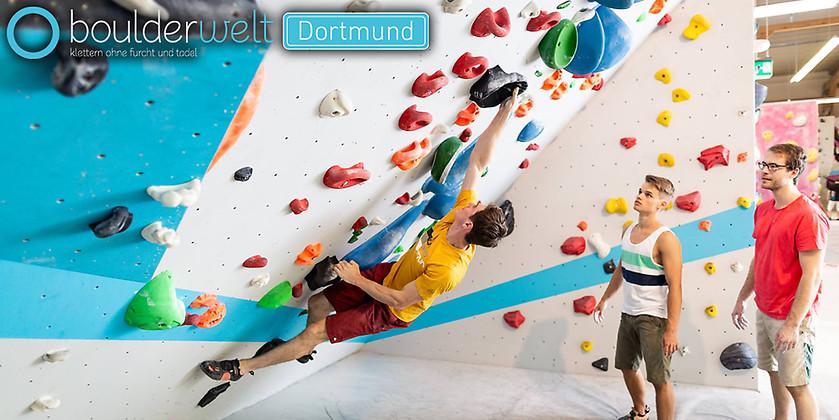 Gutschein für Ihr Tagesticket zum halben Preis! von Boulderwelt Dortmund