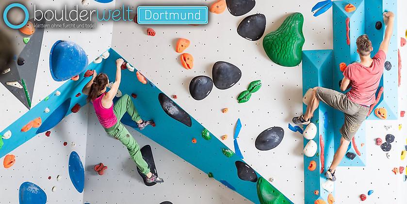 Gutschein für Gutschein für einen Grundkurs zum halben Preis! von Boulderwelt Dortmund