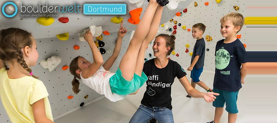 Gutschein für Familienkarte zum halben Preis! von Boulderwelt Dortmund