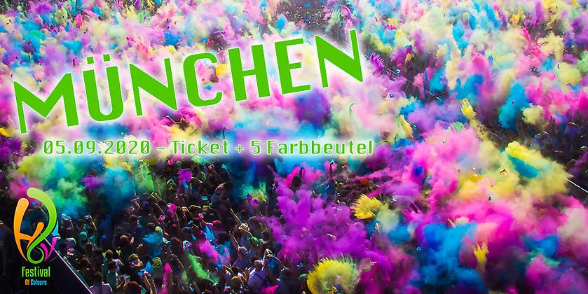 Gutschein für Colour Package für München zum halben Preis! von Holi Festival of Colours