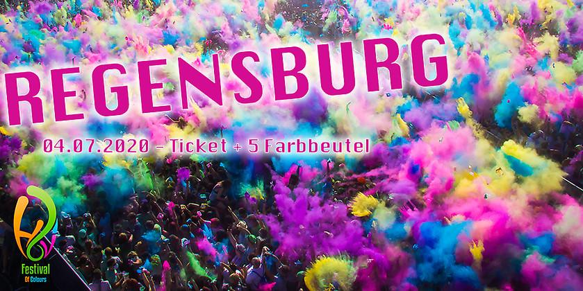 Gutschein für Colour Package für Regensburg zum halben Preis! von Holi Festival of Colours