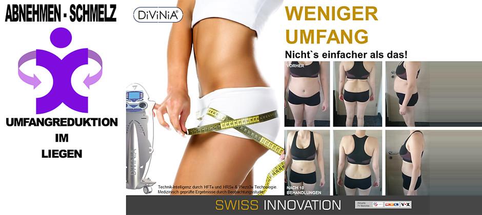 Gutschein für DiViNiA®-Probebehandlung + eine Futrex-Messung zum halben Preis! von Abnehmen - Schmelz