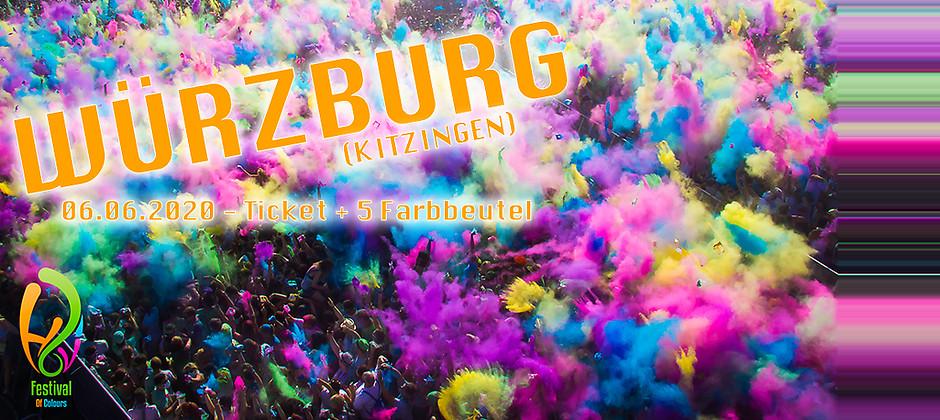 Gutschein für Colour Package für Würzburg zum halben Preis! von Holi Festival of Colours