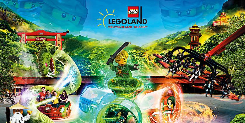 Gutschein für Der großartige Gutschein für eine Tageskarte für das LEGOLAND<sup>®</sup> Deutschland von LEGOLAND® Deutschland Resort