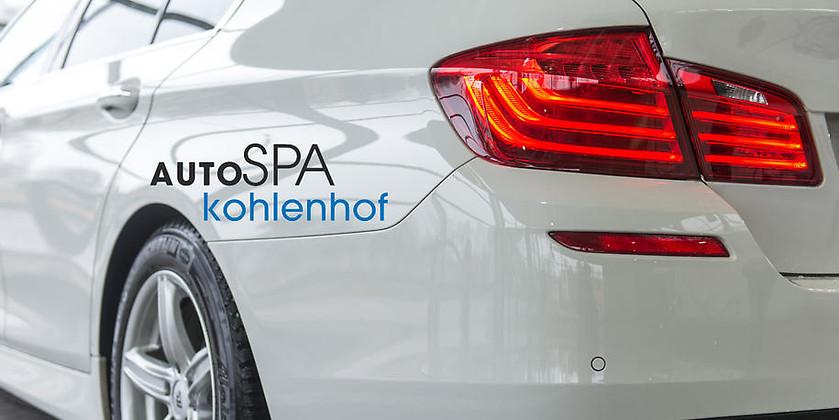 Gutschein für Kompakte Hochtechnologie für Ihre Autopflege von autoSPA Kohlenhof