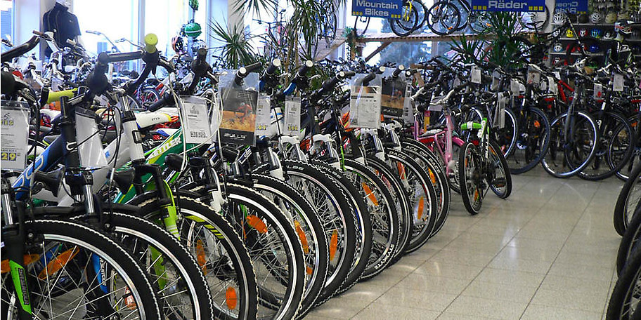 Eine riesige Auswahl an hochqualitativen Fahrrädern erwartet Sie