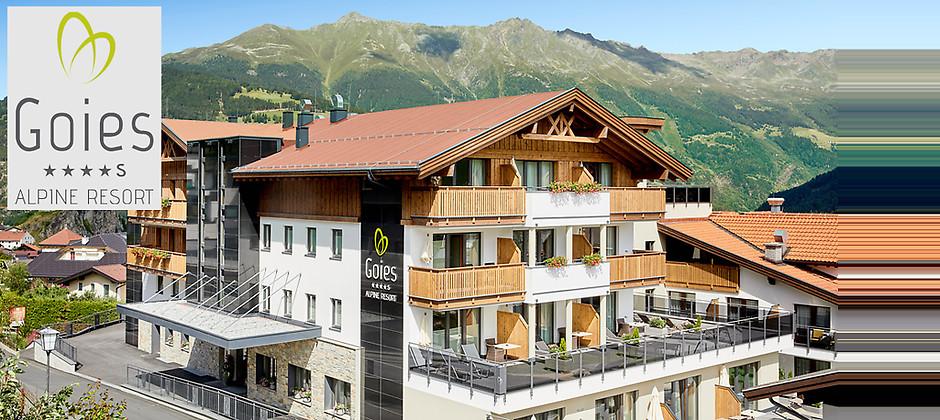 Gutschein für Genussurlaub in Ladis/Tirol von ALPINE HOTEL RESORT GOIES