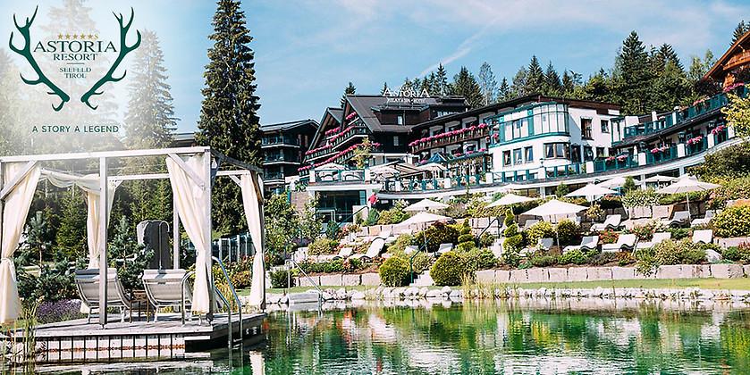 Gutschein für 3 Übernachtungen für 2 Personen in Tirol zum halben Preis! von ASTORIA RESORT