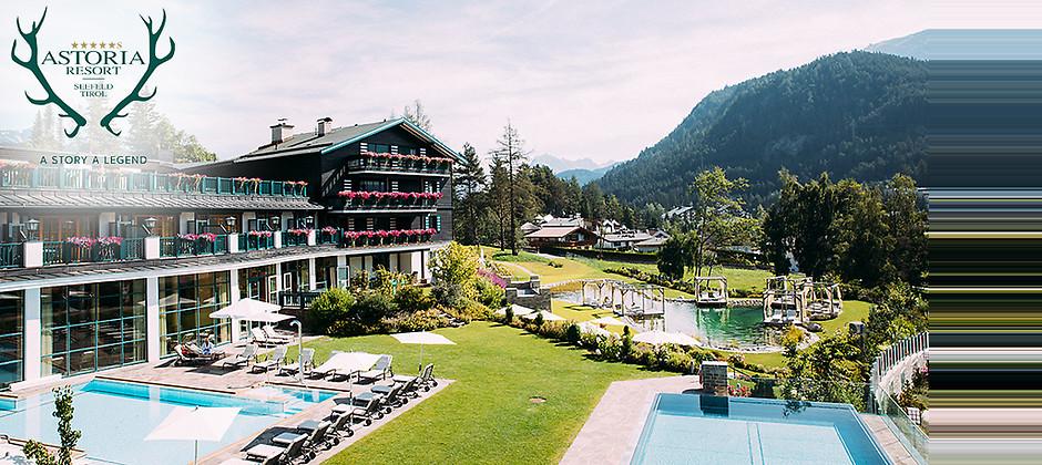 Gutschein für 5 Übernachtungen für 2 Personen in Tirol zum halben Preis! von ASTORIA RESORT