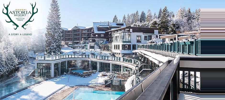 Gutschein für 7 Übernachtungen für 2 Personen in Tirol zum halben Preis! von ASTORIA RESORT