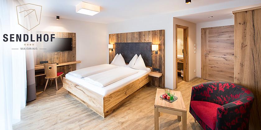 Gutschein für 2 Übernachtungen für 2 Personen zum halben Preis! von Hotel Sendlhof
