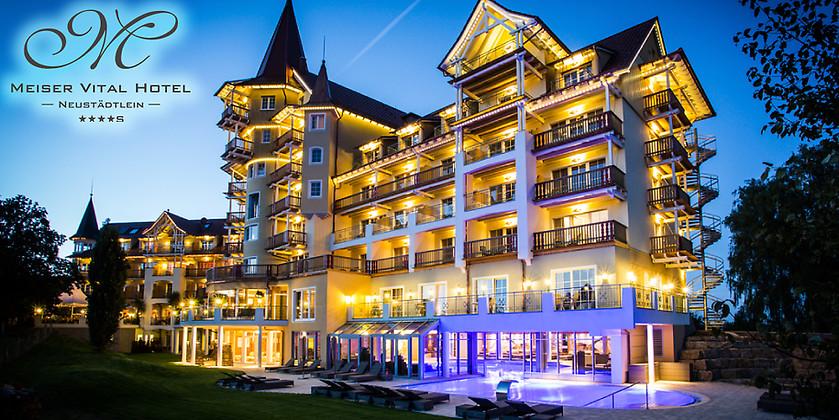 Gutschein für Kurzurlaub im Herzen Süddeutschlands für 2 Personen zum halben Preis! von Meiser Vital Hotel