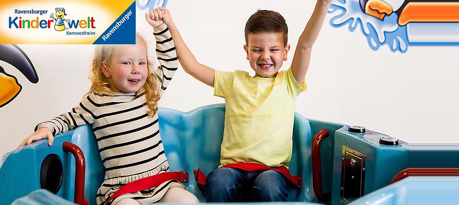 Gutschein für Tageseintritt für Kinder von 3 bis 5 Jahren zum halben Preis! von Ravensburger Kinderwelt Kornwestheim