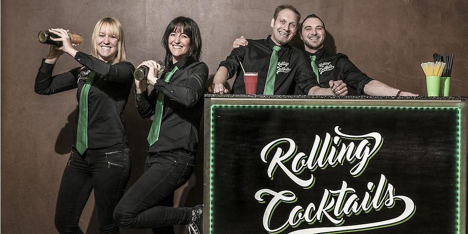 Das Team von Rolling Cocktails freut sich auf Ihr nächstes Event!